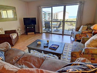 Photo for Surf Condo 223 - Ocean View w/ Pool & Beach Access