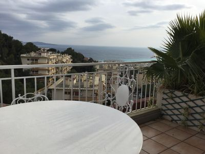 Photo for Nice. Last stage. Large terraces.  Sea view