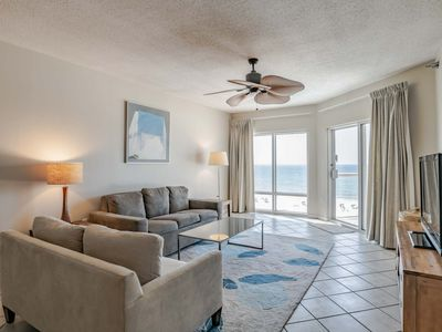 Photo for Beachfront Condo with Private Balcony. Onsite Fitness Center and Beach Front Pools!