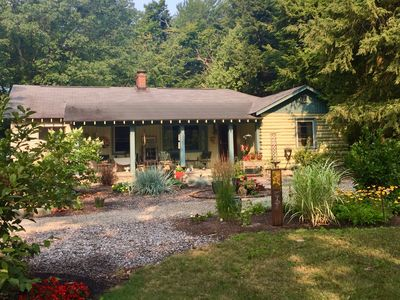Photo for The Gem sits on 3 acres downtown Glen Arbor