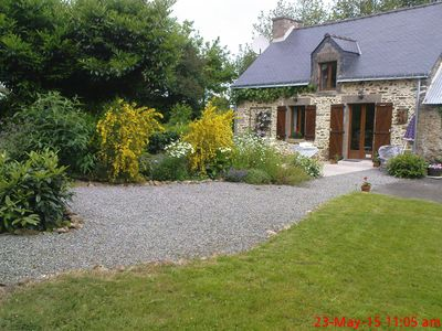 Photo for A traditional rural  Breton Gite set in it's  own private and peaceful Gardens.