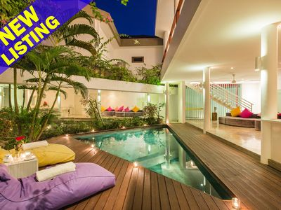 Photo for 3 Bedroom Villa 100meters from Seminyak Beach>