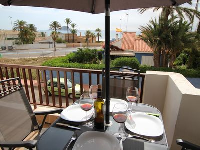 Photo for Huge apartment at km 8 of La Manga in the center of the two seas for 8 people