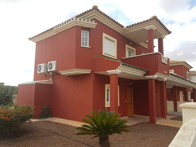 Photo for Beautiful 3 Bedroom Villa with private pool, Peaceful Mosa Trajectum
