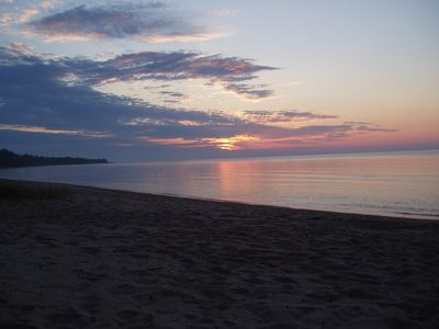 Photo for Lake Michigan Beachfront Spring Special 4th night free with 3 night rental