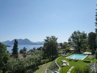 Photo for Villa Alina, high quality villa with private pool in Lake Maggiore with wellness and private pool wi