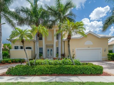 Photo for Waterfront home w/ heated pool, hot tub & second floor balcony