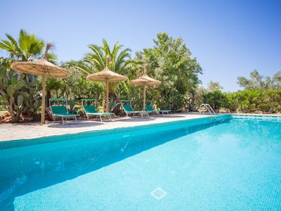 Photo for CAN PINA (ECO ARCO) - Apartment with shared pool in Costitx.