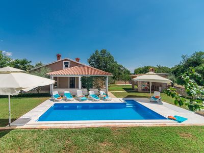 Photo for Villa Ruza with Pool in Peaceful and nice Landscaped Garden