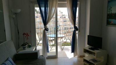 Photo for Spectacular duplex apartment with sea view