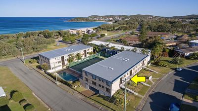 Photo for 2 The Dunes, 38 Marine Drive - pool, tennis court and so close to the beach