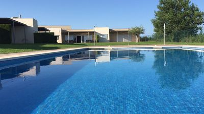 Photo for House in L'Ampolla with pool 5 minutes from the beach in Mirador complex
