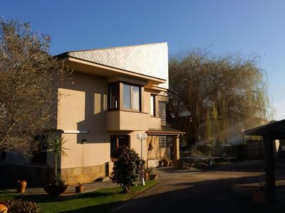 Photo for Atmospheric villa with spacious garden and private pool, a few km from the beach