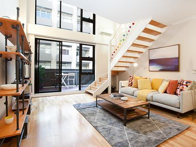 Photo for Stylish Loft Steps From City In Best Neighbourhood