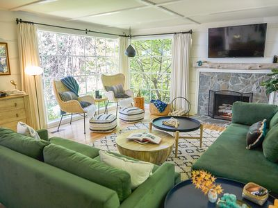 Photo for Lake Front Luxury In Lake Arrowhead. The Lake And Forest Are Your Backyard!