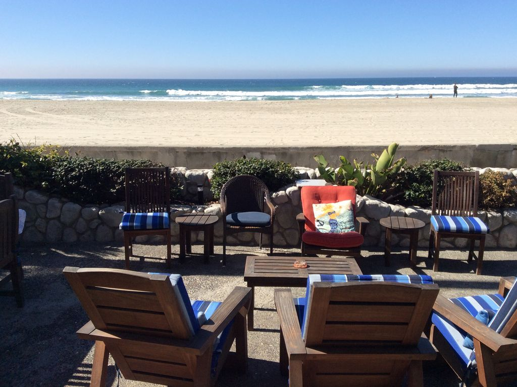 Vacation Rental Beach Front House Families Best Area South Mission Gated Patio Mission Beach