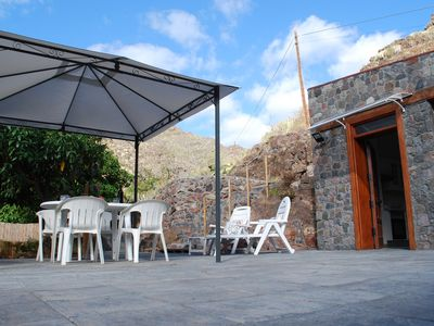 Photo for TWO BARRANCOS (3). - 1 double bedroom, living room-kitchen, sofa-bed, bathroom. Swimming pool
