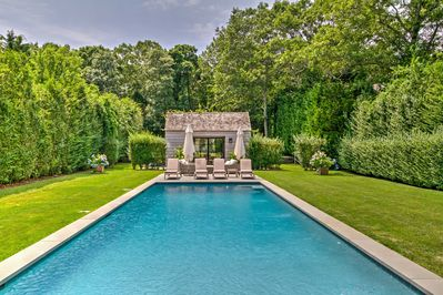 Experience the ultimate getaway at this stunning house in East Hampton!