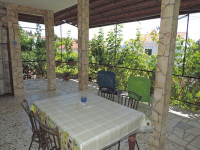 Photo for Two bedroom apartment with terrace Seget Vranjica (Trogir)