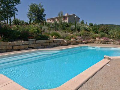 Photo for Superb villa with private heated pool, large garden, near Carcassonne