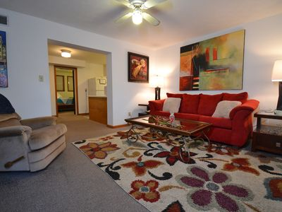 Photo for Foley Field Flat 1 BR Floor Level Apartment on Milledge - Walk Everywhere!
