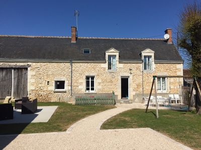 Photo for House 8p in the heart of the Loire Valley and close to the Beauval Zoo