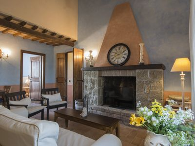Photo for Casale degli Ulivi, 12 plus rooms, with terrace and fireplace, suitable for groups