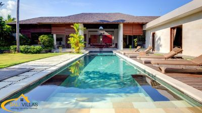 Photo for Arte, Luxury 3 Bedroom Villa, Large Pool, Central Seminyak