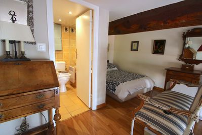 3 bedroom, 3 bathroom villa apartment provides privacy and community for guests.
