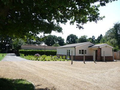 Photo for Peaceful location. Private parking. Central to Ipswich, Woodbridge & Felixstowe