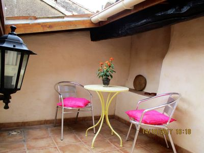 Photo for Holiday bliss romantic town -  Town house with private roof terrace