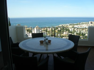 Photo for First class apartment, fantastic views, ideal for couples-family, WIFI available