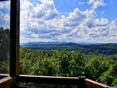 Photo for Best Location in Blue Ridge w/both City & Mountain Views! 3 Screened In Decks