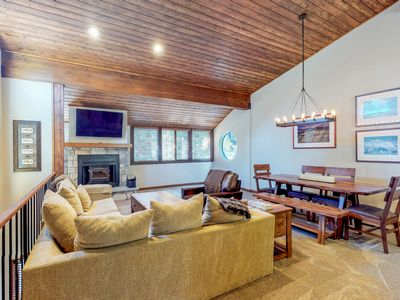 Photo for Cozy Mammoth Lakes townhome, newly renovated!