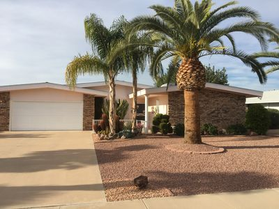 Photo for Tranquil Sun City Golf Home w/ Fruit Trees Close to Shopping & Spring Training