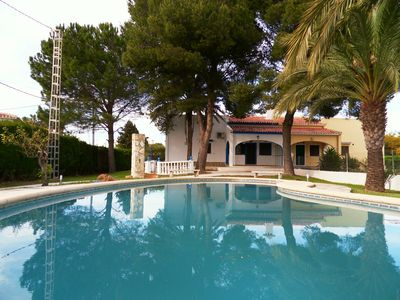 Photo for Villa Azul completely renovated with 3 bedrooms, 1 bathroom, private pool.  a/c
