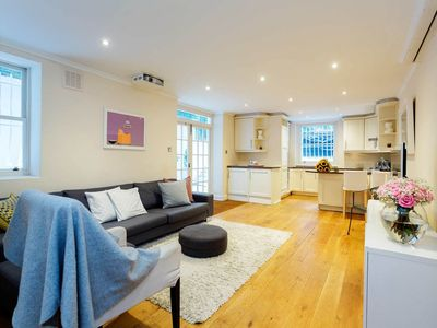 Photo for Comfy, Spacious 2BR near Earl's Court with terrace