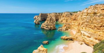 Paraiso Beach, Carvoeiro, Portugal