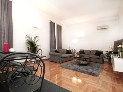 Photo for Lux Apartment comfort and privacy in the center of Rome by a group of 10 friends