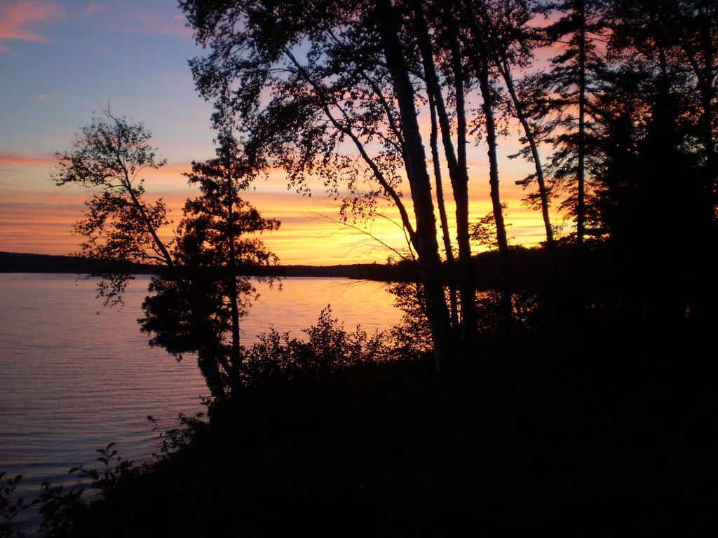 Michigan keweenaw county allouez - Great Sunsets Most Evenings Followed By Beautiful Star Filled Night