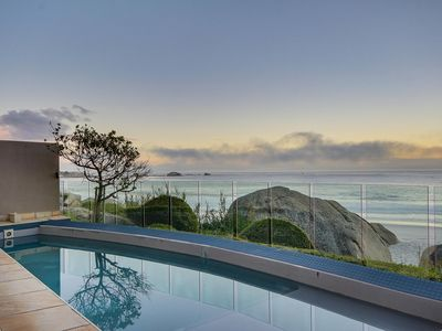 Photo for Clifton Villa on private beach with amazing views