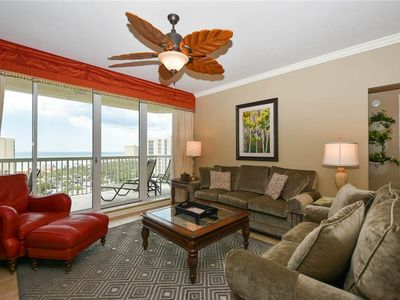 Photo for Condo with Beach Views. Tons of Resort Amenities. Includes Beach Service