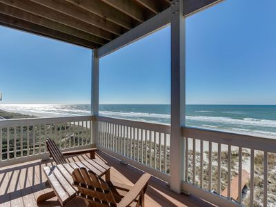 Photo for Available Now! Beachfront, Pet-Friendly Home on the North Cape with FIVE Master Suites!