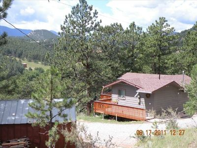 Photo for Tucan Guest Cottage, Rocky Mountain Getaway, 30 Min to Denver