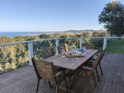 Photo for The Eyrie: 180 degrees of gorgeous sea views