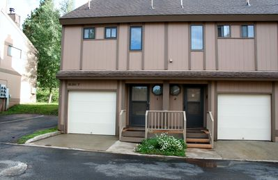 Photo for Large 2 Bedroom Condo w/Garage & Free Wifi & DishTv.  Come for your Ski Vacay!!!