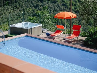 Photo for 2 room apartment on a winery, 5 kilometers from the beaches of Diano Marina