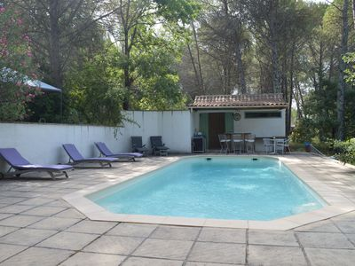 Photo for Relaxing Holiday Home in Fayence with Private Swimming Pool