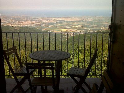 View of the sea, the plain and the Tuscan islands from every balcony and terrace