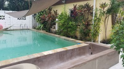Photo for Pool house with all the amenities,  rustic jungle property